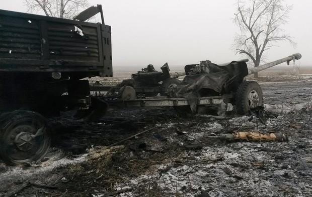 «ИС»: под Дебальцевым военные накрыли «Градами» роту бригады «Призрак»
