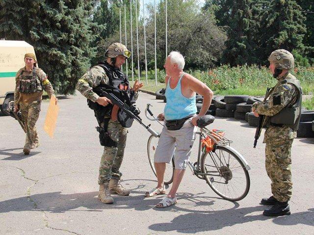 Взрывы в Славянске 27 июля оказались ложной тревогой