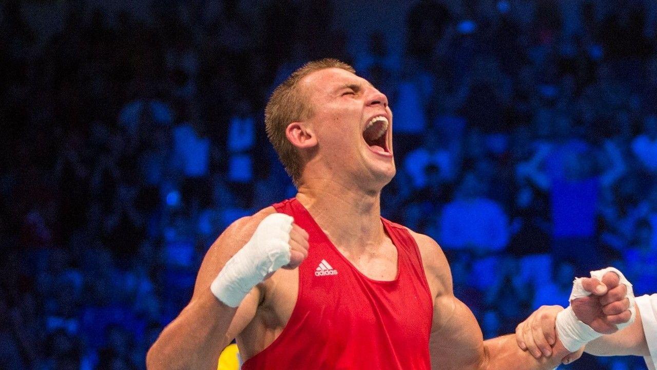 """Минимум """"серебро"""", но мыслями о """"золоте"""": украинский боксер Хижняк в финале ОИ"""