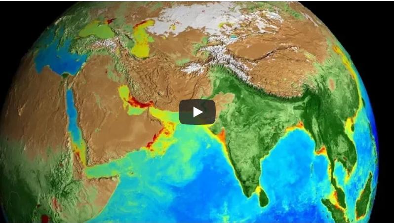 Как быстро изменяется климат на планете: NASA обнародовало ролик про глобальное потепление на Земле за прошедшие 20 лет - кадры