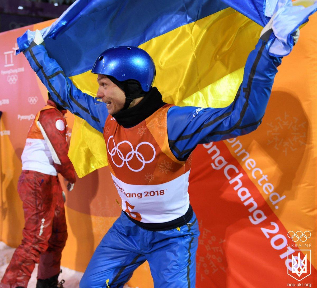"""За несколько секунд до исторической для Украины победы: опубликованы кадры фантастического """"золотого прыжка"""" украинца Абраменко в Пхенчхане"""