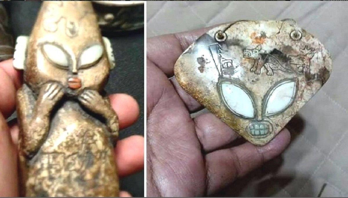 В Мексике раскопали портрет царя аннунаков: археологи рассказали о зловещем ритуале выходцев с Нибиру