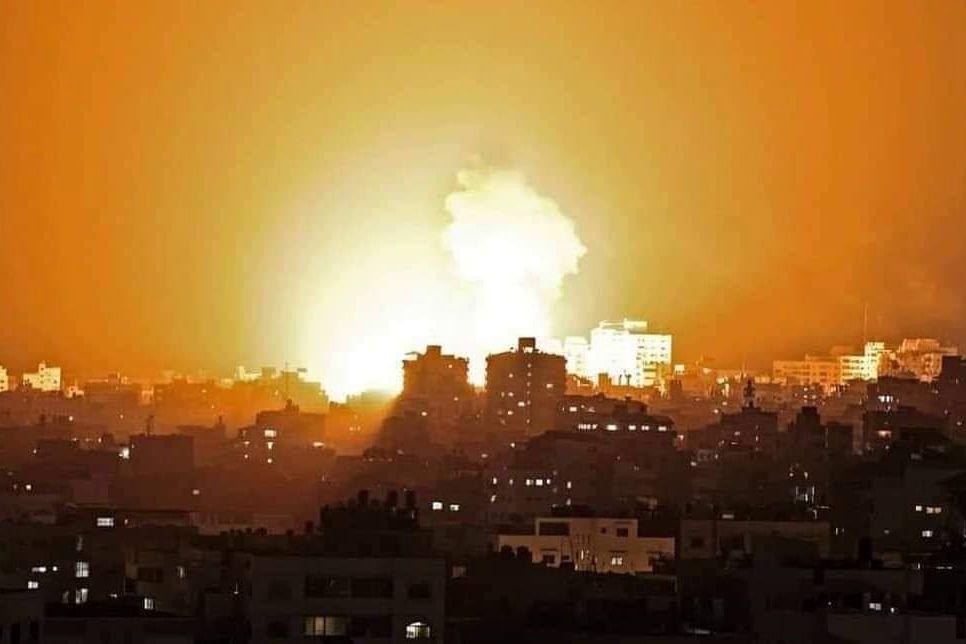 Израиль, перехватив дрон ХАМАС у своей территории, нанес ответный удар - разбиты стартовые площадки