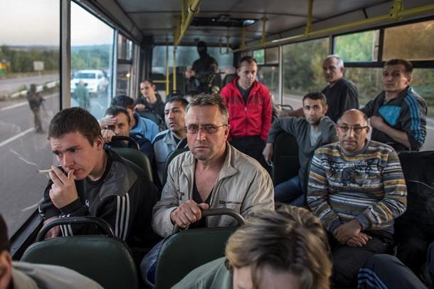 Украина, Киев, обмен пленными, Донбасс, ДНР, АТО, Нацгвардия, армия Украины, Донецкая республика