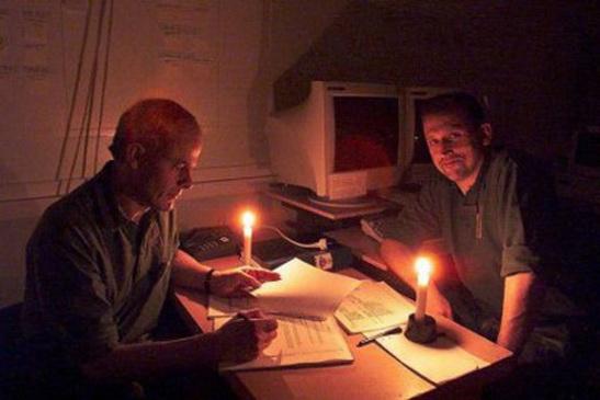 Донецк обесточен: практически во всех районах нет электричества