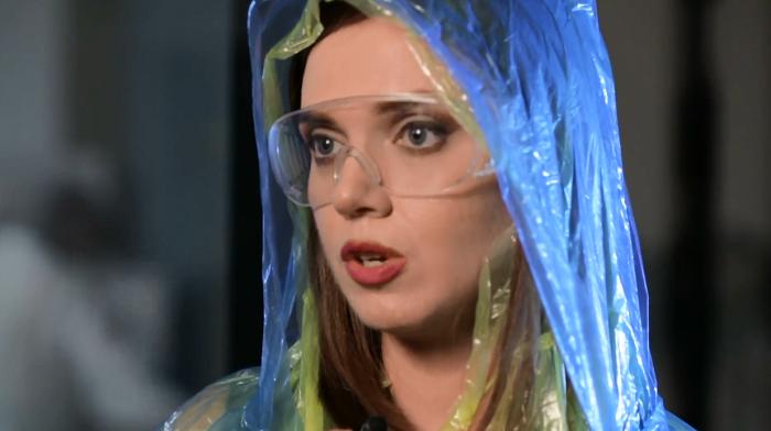 """Соколова ярко потроллила россиян за фейки о языке в Украине: журналистка предложила им """"ириску с геном Парубия"""""""