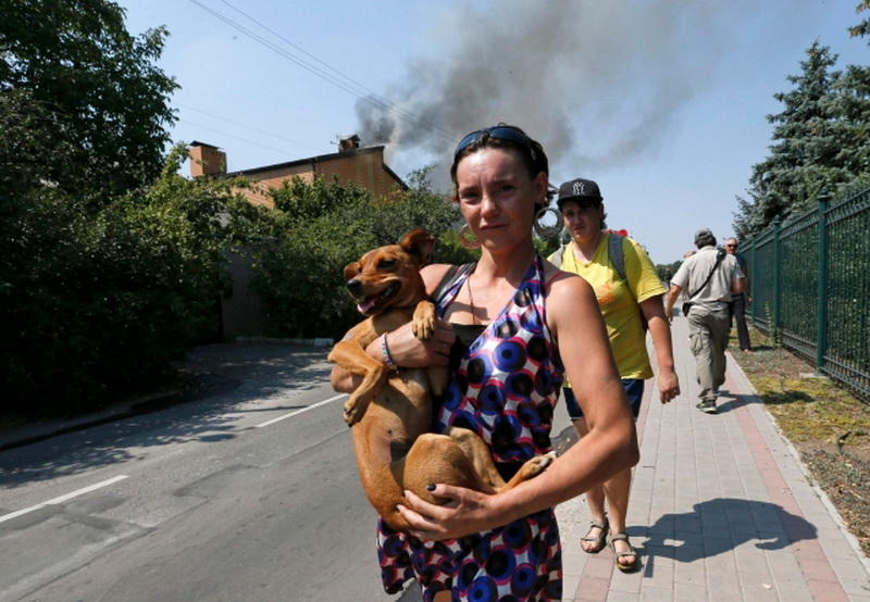 АТО в Донецке переживают примерно 200 тысяч жителей