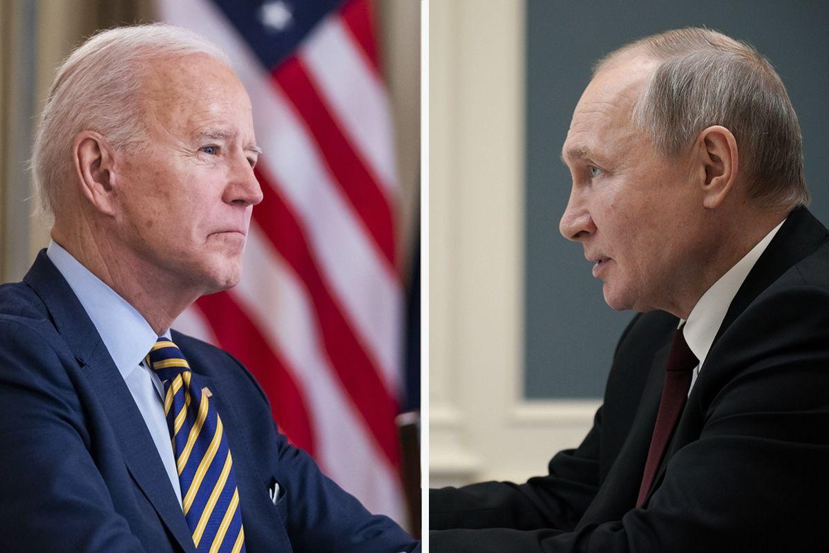 """Версия Кремля о разговоре Путина и Байдена: Украина стала """"камнем преткновения"""""""