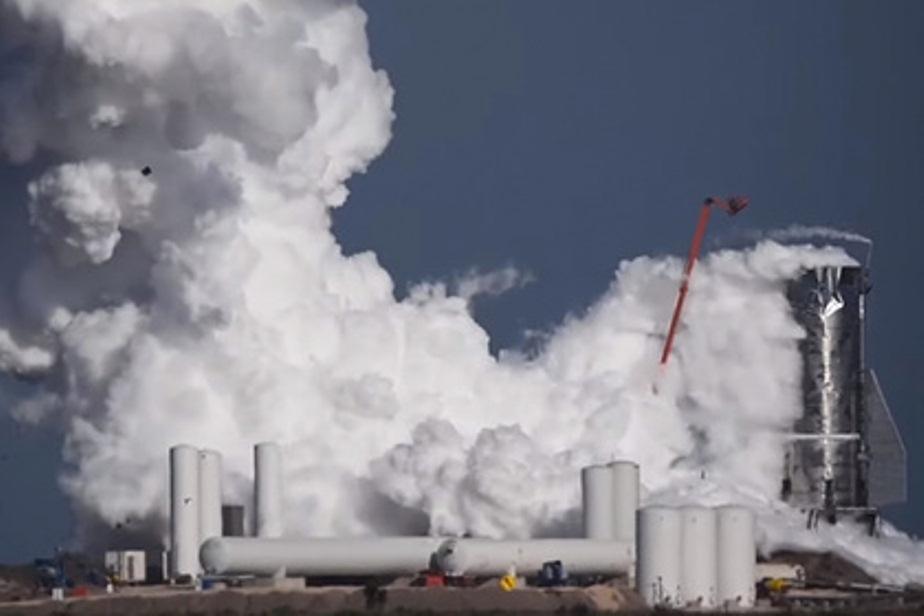 В США взорвалась ракета Starship Илона Маска: момент взрыва попал на видео