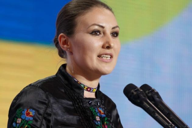 Федина отреагировала на визит президента в Золотое и разозлила Бужанского всего одним словом