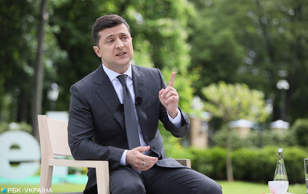 Зеленский назвал условия выдвижения на второй президентский срок и рассказал о соперниках