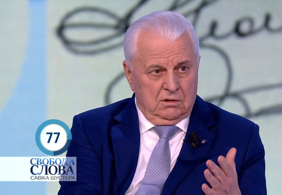"""Кравчук устроил скандал из-за монолога Зеленского: """"Я думал Шустер за свободу слова"""""""