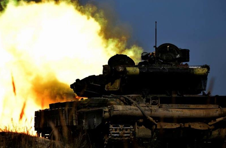 Под Крымским враг нанес двойной удар: гремела артиллерия 120 мм и БМП, у ВСУ потери
