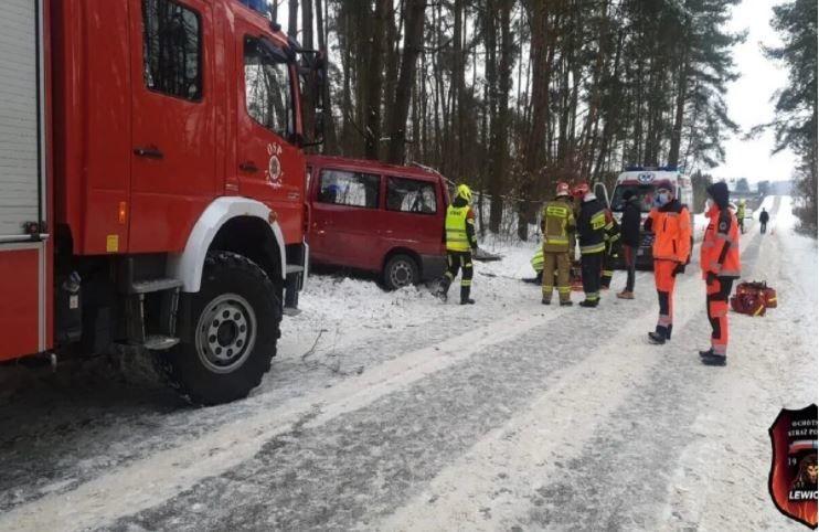 ДТП в Польше с автобусом – много пострадавших украинцев