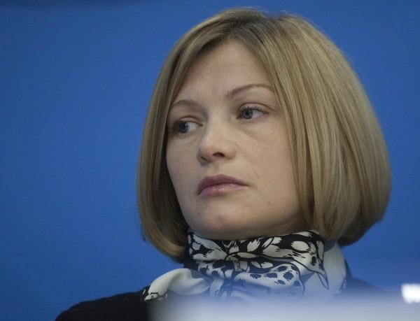 Ирина Геращенко: нужно убеждать людей из опасных городов зоны АТО выезжать, мы должны спасать наших граждан