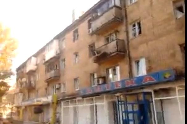 В Донецке обстреляли жилые массивы микрорайона Путиловский