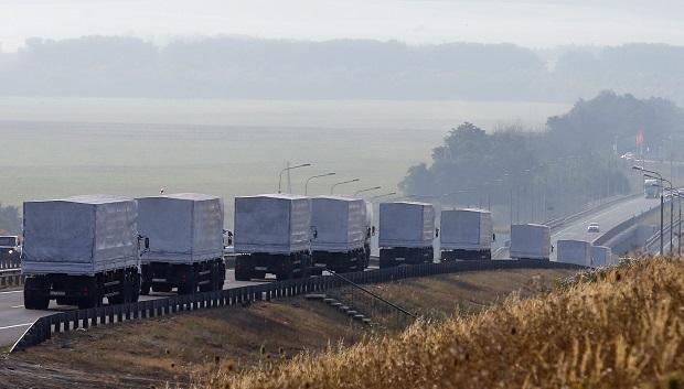 В Госпогранслужбе рассказали о составе гуманитарного конвоя РФ, который пересек границу с Украиной