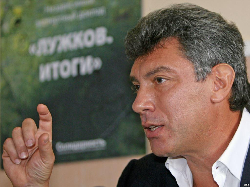 Немцов: перемирие будет, мир - нет