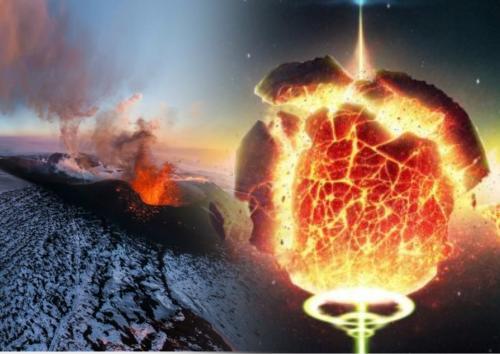 """Нибиру """"расчленило"""" Солнце в небе над Россией - кадр """"атаки"""" планеты-убийцы: озвучено зловещее предсказание ученых"""