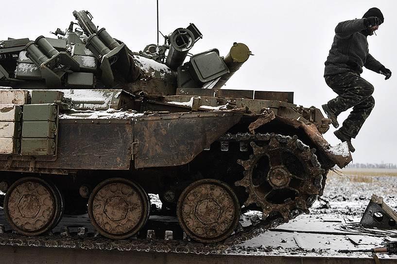 Семенченко: под Дебальцево начался штурм