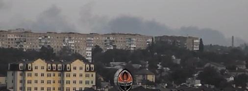 На заводе химических изделий в Донецке начался пожар