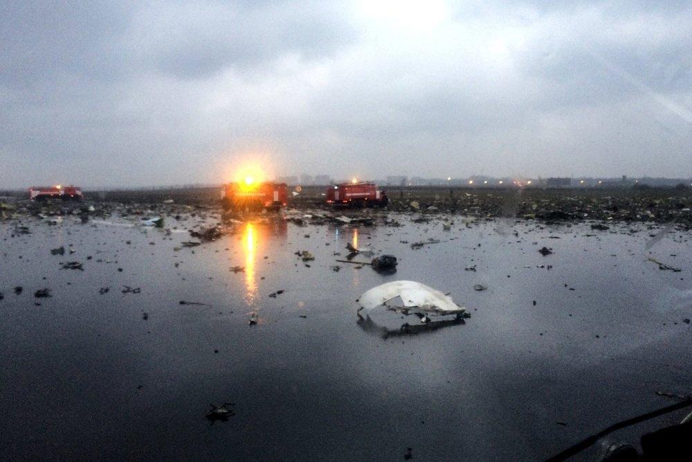 Жуткая авиакатастрофа в Ростове-на-дону: FlyDubai терпит первую в своей истории трагедию