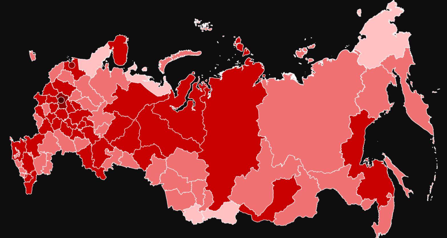 Число заболевших коронавирусом в России превысило 100 000 человек: за сутки больше 7 000 новых инфицированных