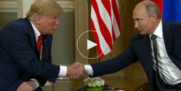 """Times: Саммит в Хельсинки вызывает опасения у союзников США: Трамп может """"сдать"""" Путину секретные данные"""
