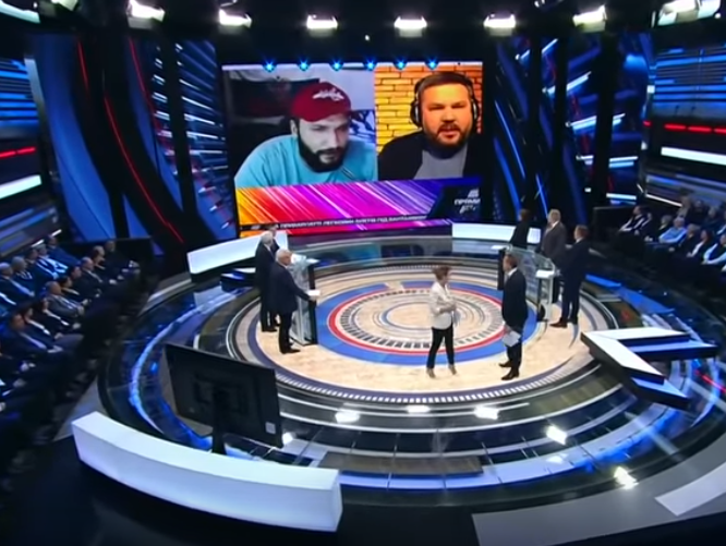 новости, Россия, Скабеева, Россия 1, 60 минут, Андрей Полтава, скандал, блогер, кремлевские пропаганадисты