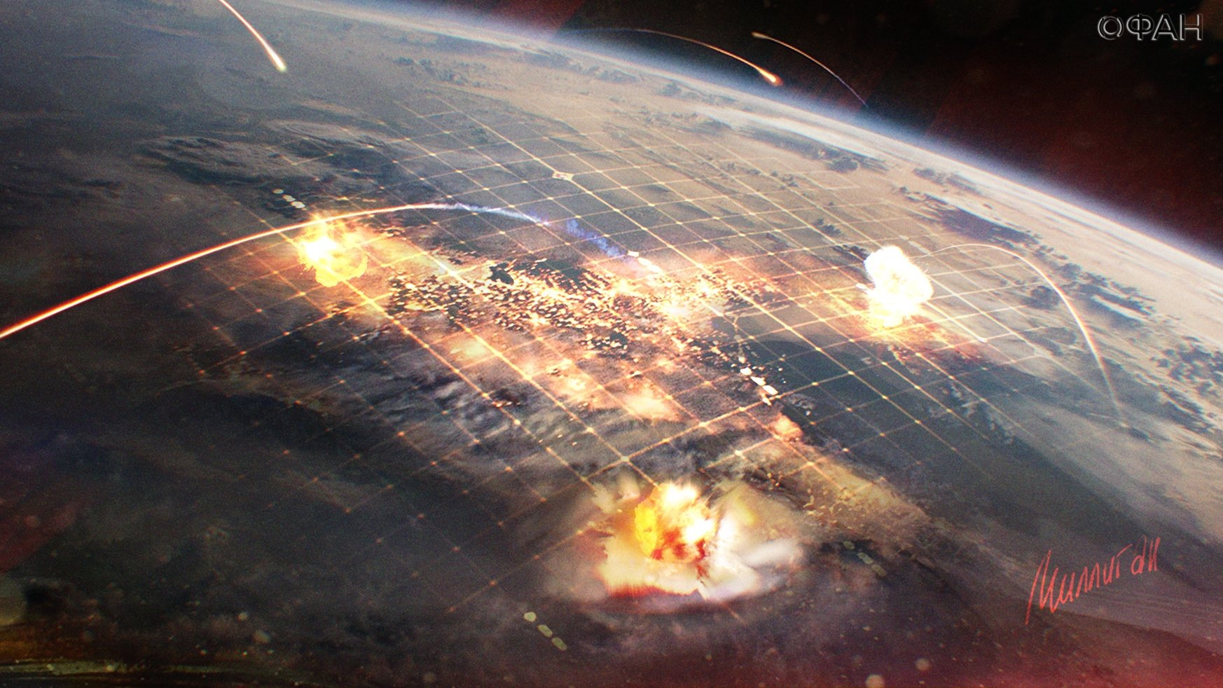 Россия, США, ВВС, Генштаб, Ядерная война, Атака, Гольдфейн.