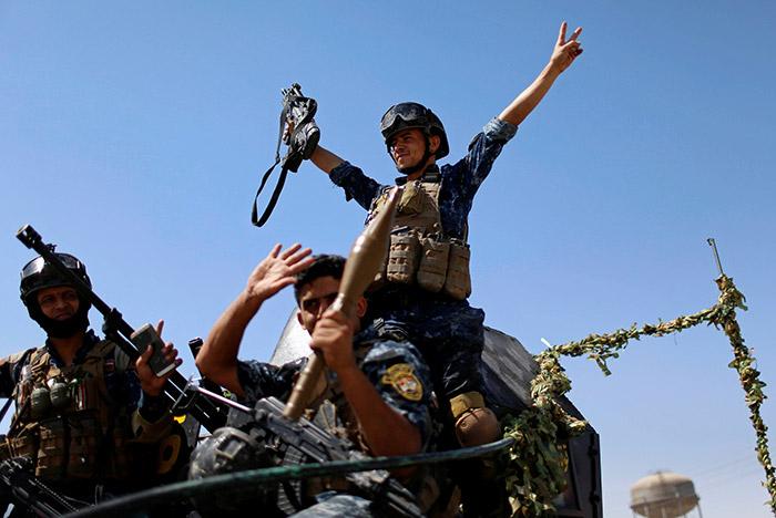 Мосул освобожден от ИГИЛовцев! Над мечетью ан-Нури поднят иракский государственный флаг