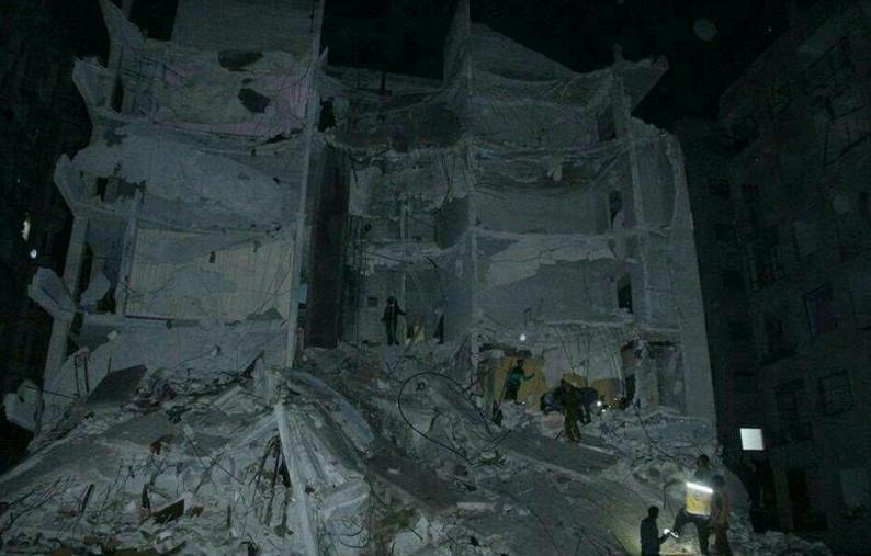 Россия нанесла удар баллистической ракетой по провинции Идлиб в Сирии. Десятки погибших и раненых  - кадры
