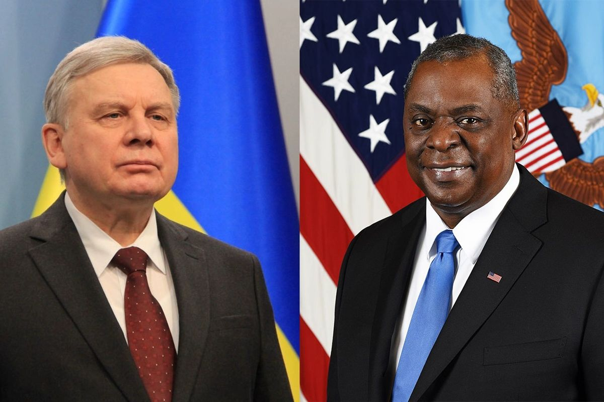 """""""США с Украиной до конца"""", - новый глава Пентагона Остин пообещал поддержку в войне с РФ"""