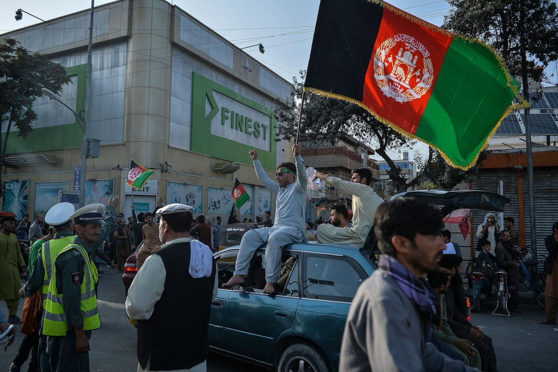 """""""Смерть """"Талибану"""", долгой жизни Афганистану!"""" - жители Кабула вышли на акции протестов"""