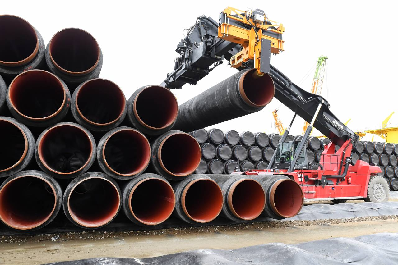 Россия, США, Газопровод, Трубопровод, Строительство, Работы, Санкции, Северный поток-2.