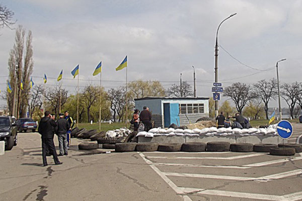 СНБО: силы АТО закрепились на рубеже Комсомольск-Раздольное