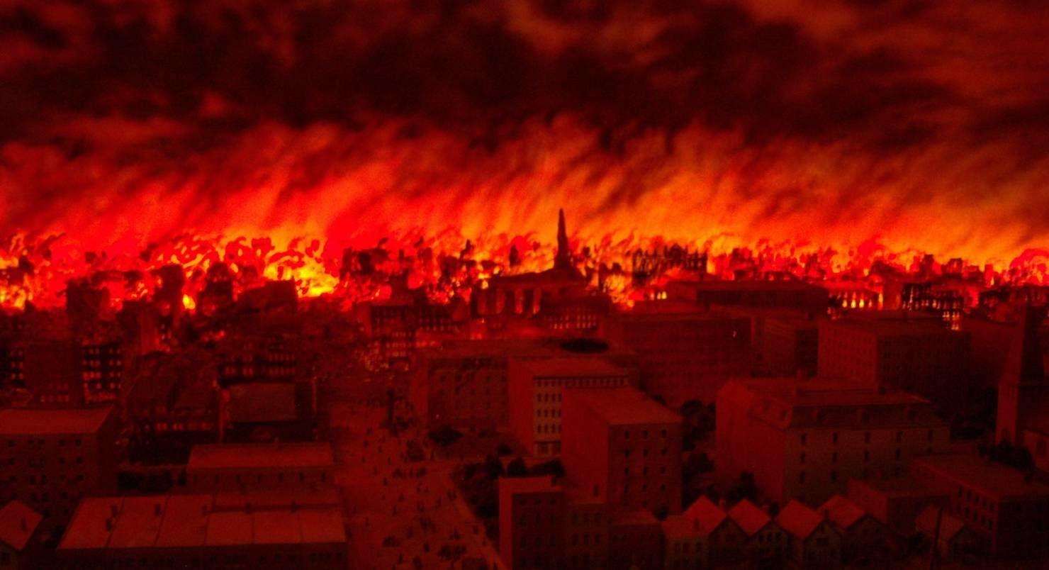 """Стрелков про пожар в Донецке на базе военных РФ: """"Горели склады с оружием 100-й бригады. Этажи полностью выгорели"""""""