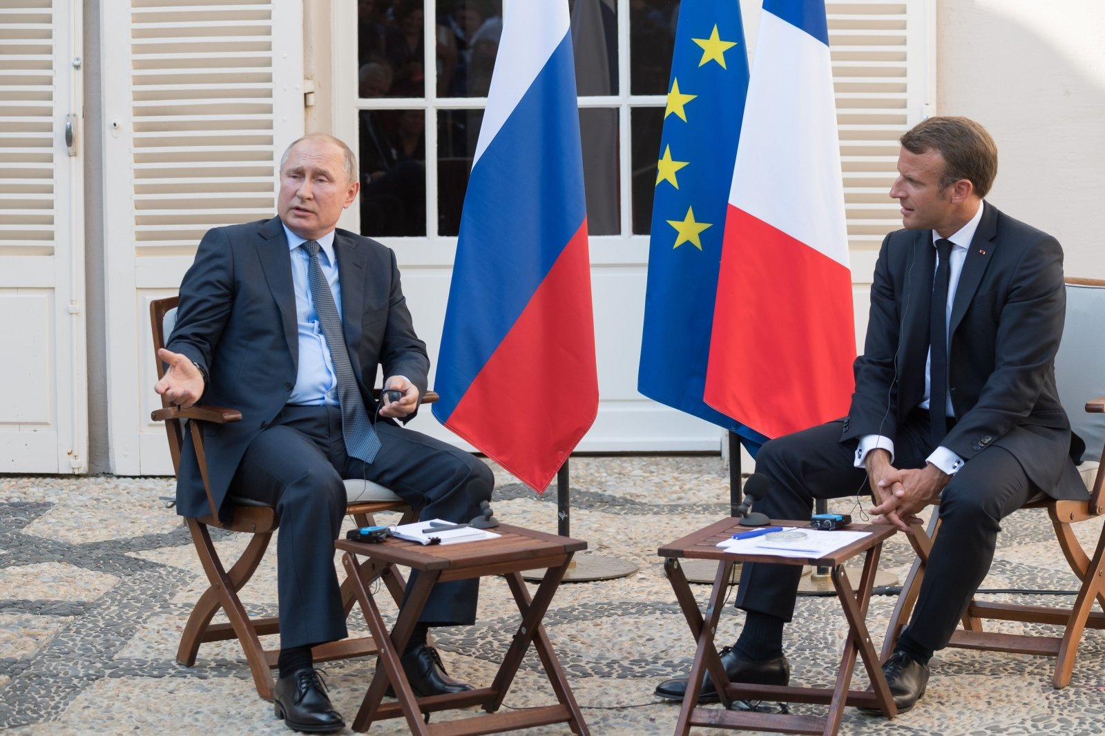Россия, Франция, Путин, Макрон, Протесты, Митинги, Москва.