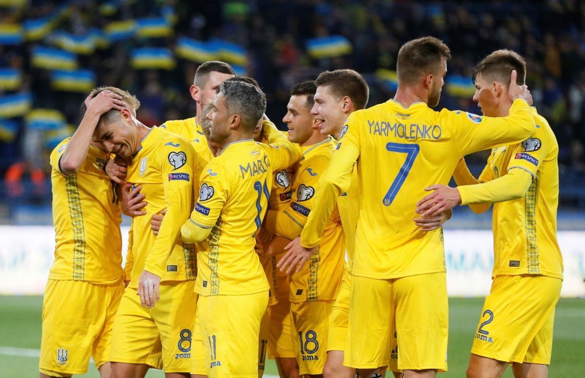 В Польше и Ирландии представили сборную Украины под флагом России на Евро-2020