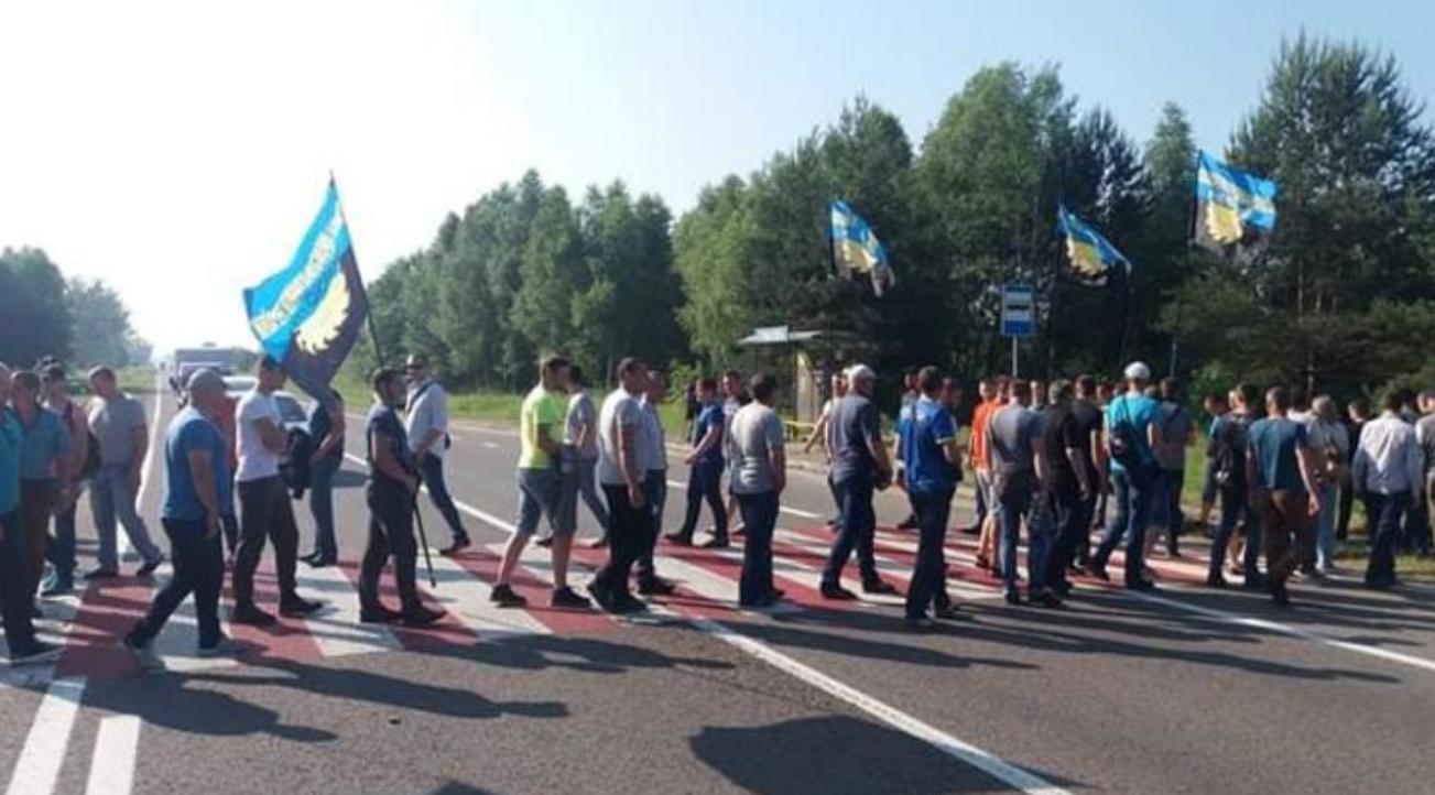 Зеленский приезжал - ничего не поменялось: львовские шахтеры устроили массовую забастовку с перекрытием границ