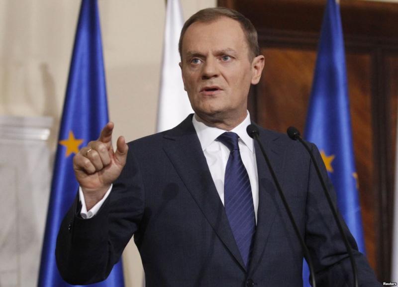 Дональд Туск – украинцам: Вы очень сильная нация и многого достигли. Как друг Украины желаю вам только одного: избегайте, как чумы, внутренних конфликтов