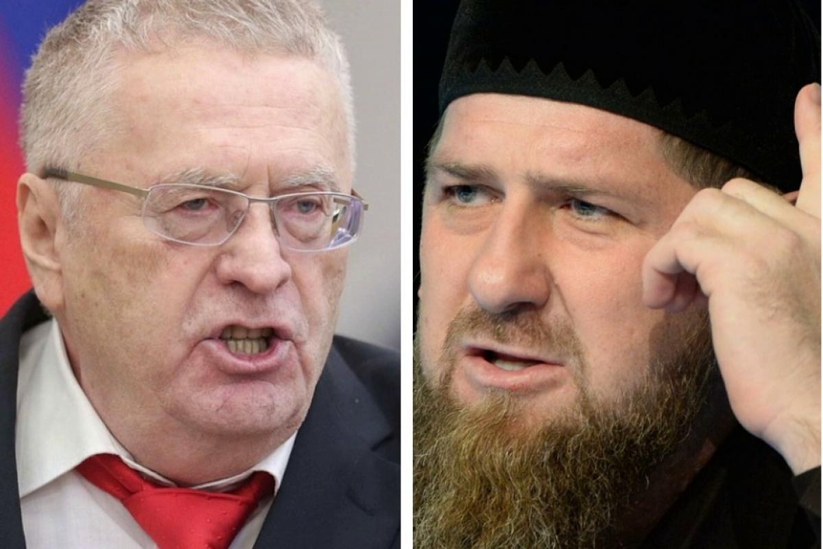 """Кадыров угрожает Жириновскому: """"Извинись, иначе мандат и деньги тебе не помогут"""""""