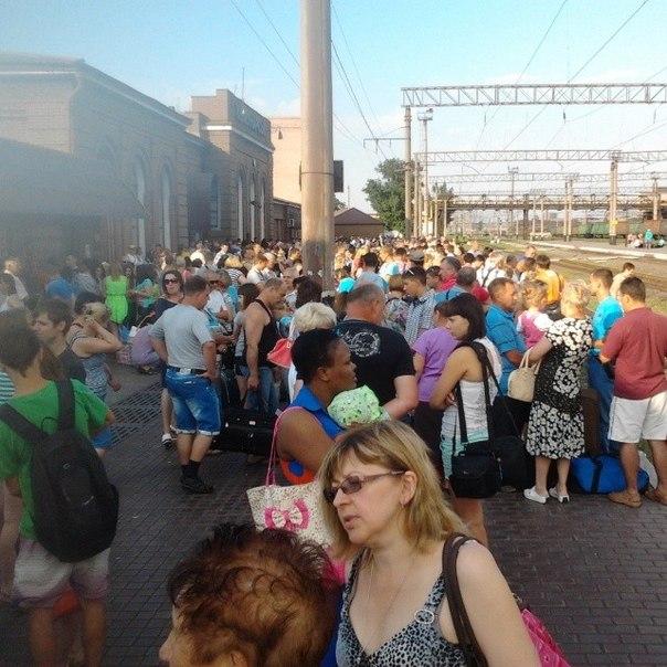 Местные жители массово покидают Алчевск