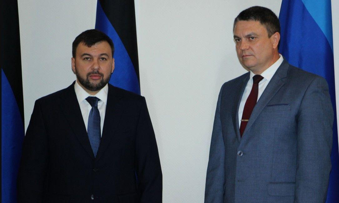 """Пушилин и Пасечник подтвердили экономическое объединение """"ДНР"""" и """"ЛНР"""""""