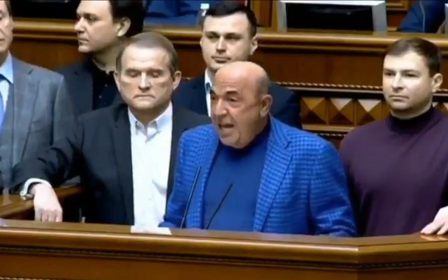 Рабинович поставил Медведчука в неудобное положение в Раде: в Сети всплыли родственные связи