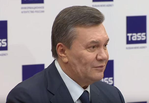 Беглый Янукович из Москвы заявил о целостности Украины и предложил свой вариант прекращения войны на Донбассе - кадры