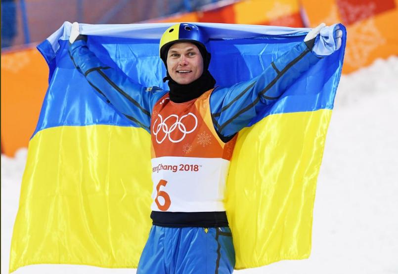 """Выигравший первое """"золото"""" для Украины на ОИ - 2018 чемпион Александр Абраменко: """"Я рад, что оправдал надежды украинцев! Всем большое спасибо!"""""""