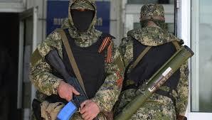 Под Иловайском батальон «Азов» задержал пятерых ополченцев
