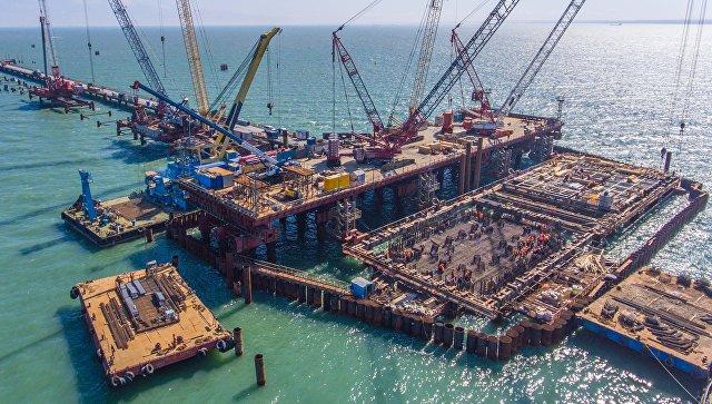 Прокуратура Крыма бьет тревогу: строительство моста через Керченский пролив может привести к экологической катастрофе