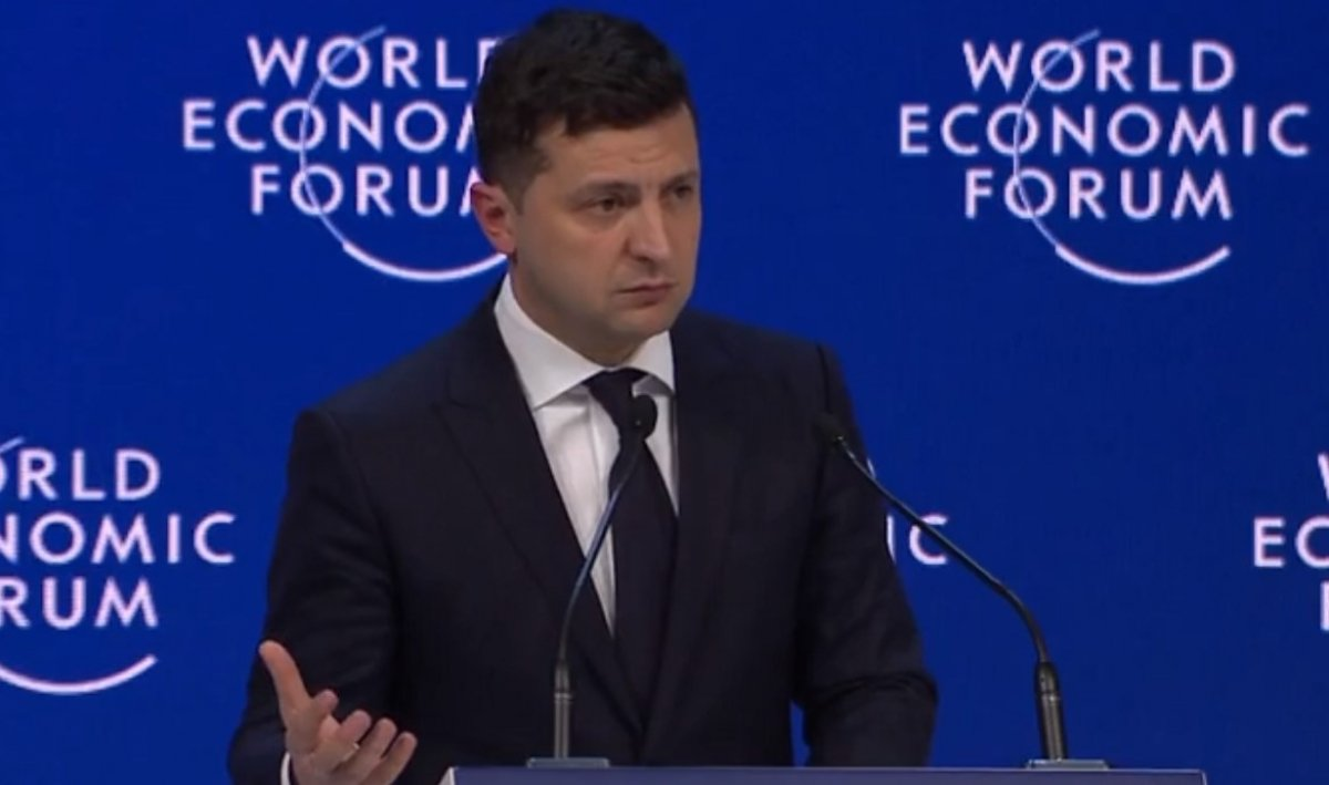 """Поездка Зеленского в Давос: стало известно, на какую сумму """"раскошелился"""" бюджет"""